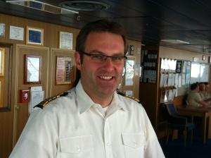 Holland America Line - Massdam- Captain Ane Smit