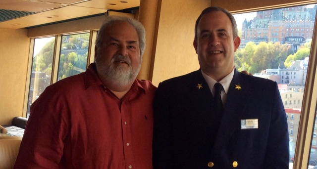 Captain Christopher  J. Norman and Howard Steven Frydman