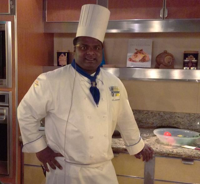 Executive Chef Allen, MS Veendam, Holland American Lines