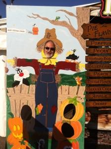 Howard Meets the Autumn Pumpkins..