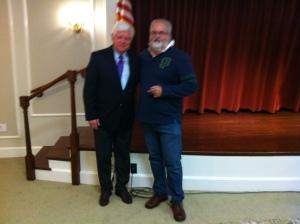 Congressman John Larson and Howard Steven Frydman