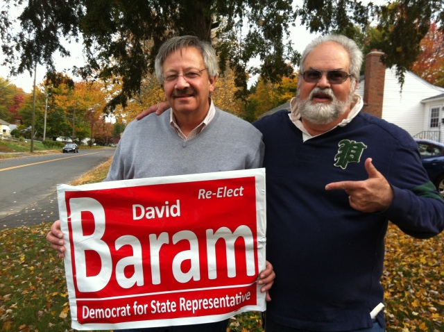 State Representative David Baram and Howard Steven Frydman.