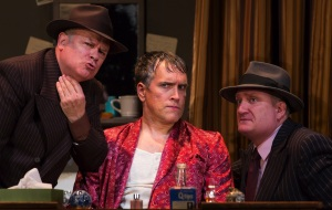 "Joel Blum, Mike McGowen, and Brendan Averett in ""Kiss Me Kate"""