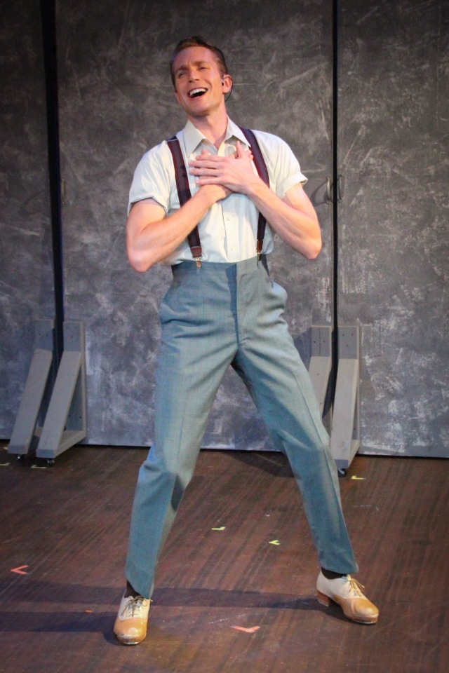 "Joe Grandy as ""Tulsa""-in GYPSY - a dancing ""wonder-kin"""