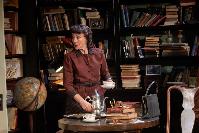 Lori Wilmer as Helen Dukas- Einstein's faithful aide and secretary.