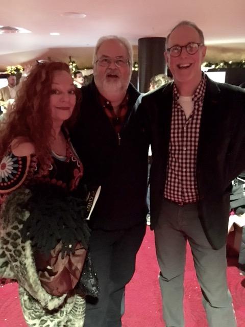 Natalie Brown, Howard Frydman and Bill Kux