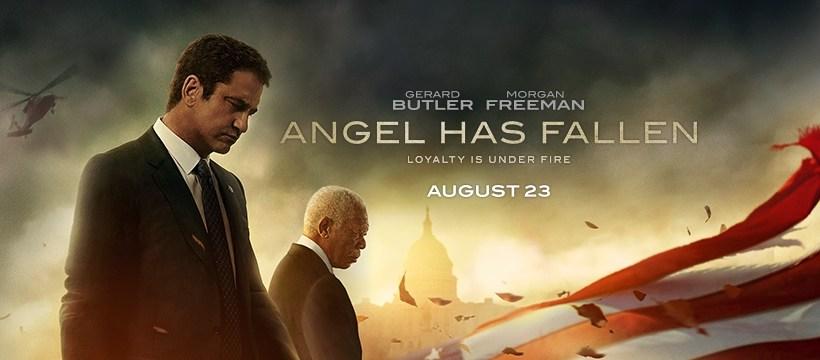 "THE Howard ~ MOVIE SCREENING INVITE ""ANGEL HAS FALLEN"""